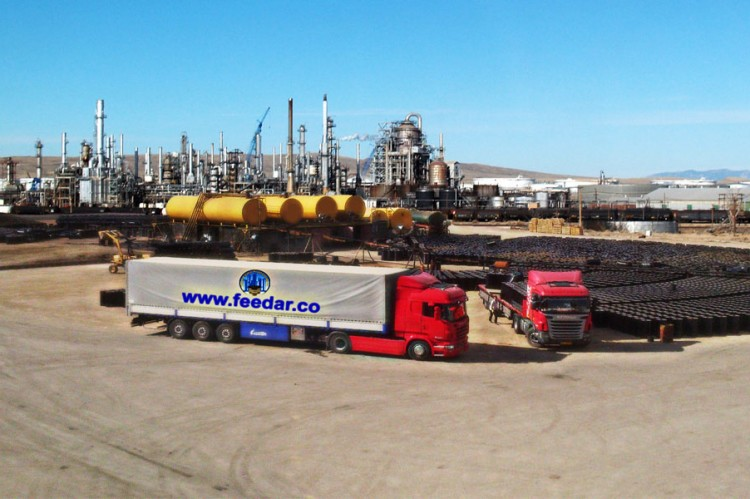 feedar, Bitumen Export